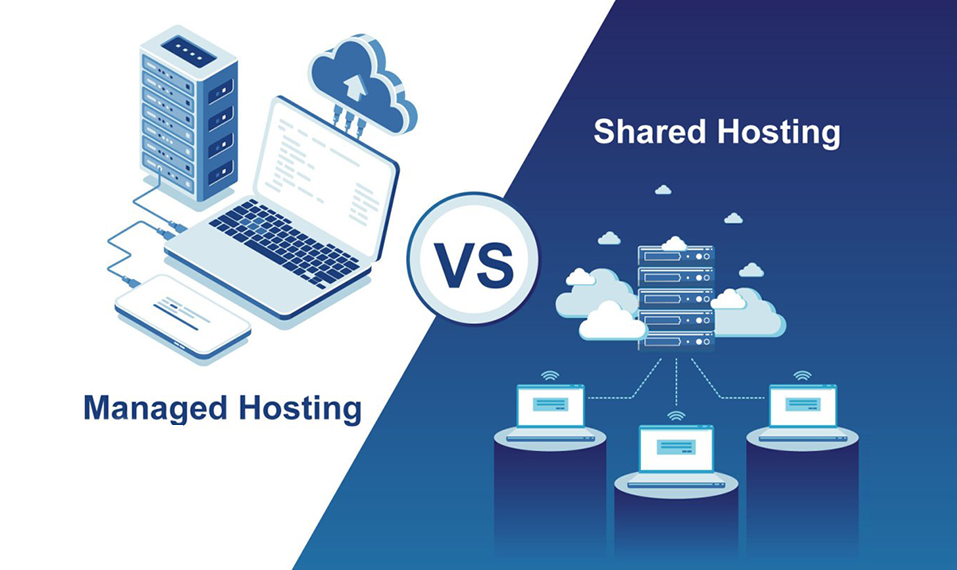 Difference Between Shared Hosting and Managed Hosting